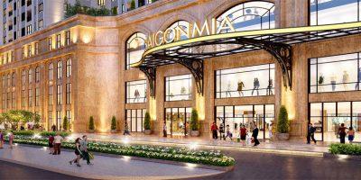 Shophouse Dự án Saigon Mia
