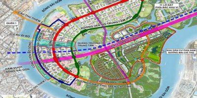 TP.HCM sẽ xây dựng cầu Thủ Thiêm 4 nối quận 7 – quận 2